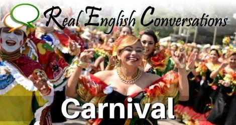 carnival english podcast audio